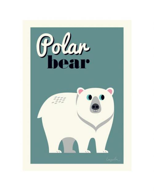 Omm Design Poster Polarbear