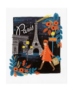 Rifle Paper ArtPrint apm087 travel paris