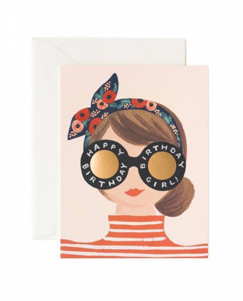 Rifle Paper Karte birthday girl