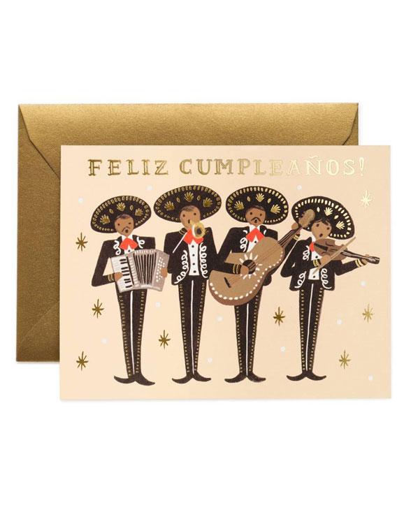 Rifle Paper Karte gcb030 mariachi