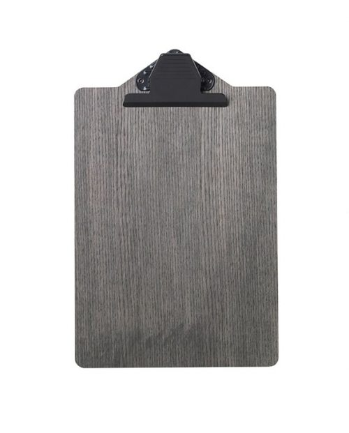 ferm living clipboard a4 stained black 3370