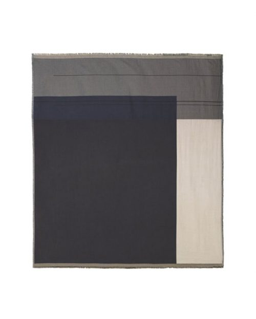 ferm living colourblock throw