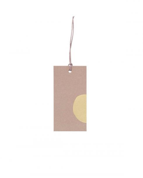 ferm living gift tags rose