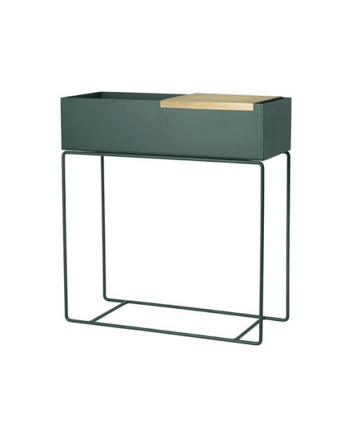 ferm living plantbox green tray 5747 1