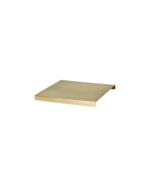ferm living plantbox tray brass 5747