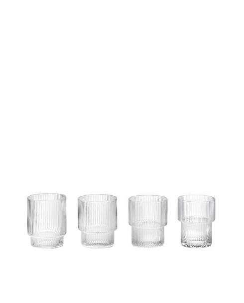 ferm living ripple glasses4 5438