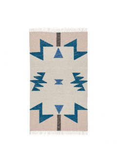 ferm living rug kelim triangles