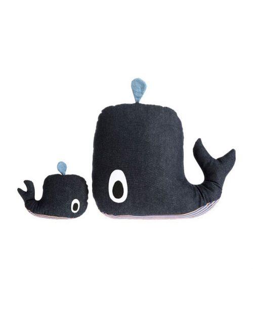ferm living whale cushion music