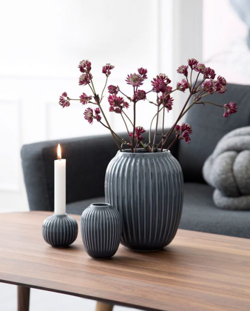 Kaehler Design Hammershoi Vase anthrazite 02