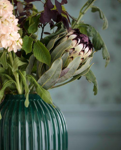 Kaehler Design Hammershoi Vase darkgreen 02