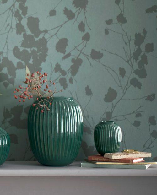 Kaehler Design Hammershoi Vase darkgreen 04