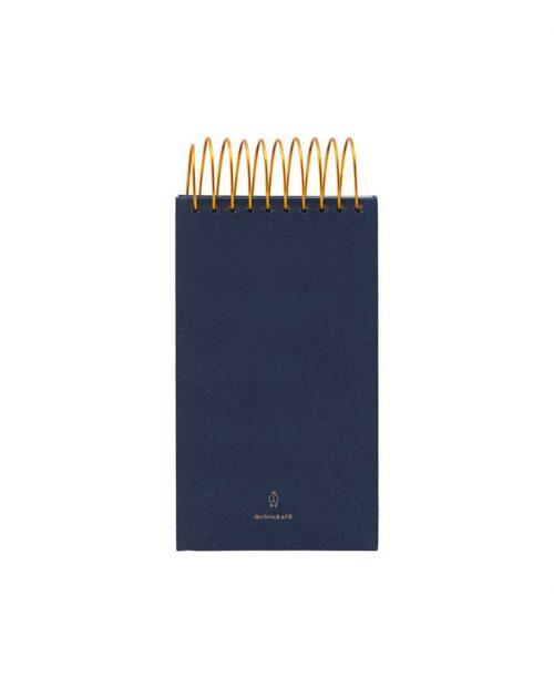 Monograph Notizblock Spirale blau aw17 mgnj092b