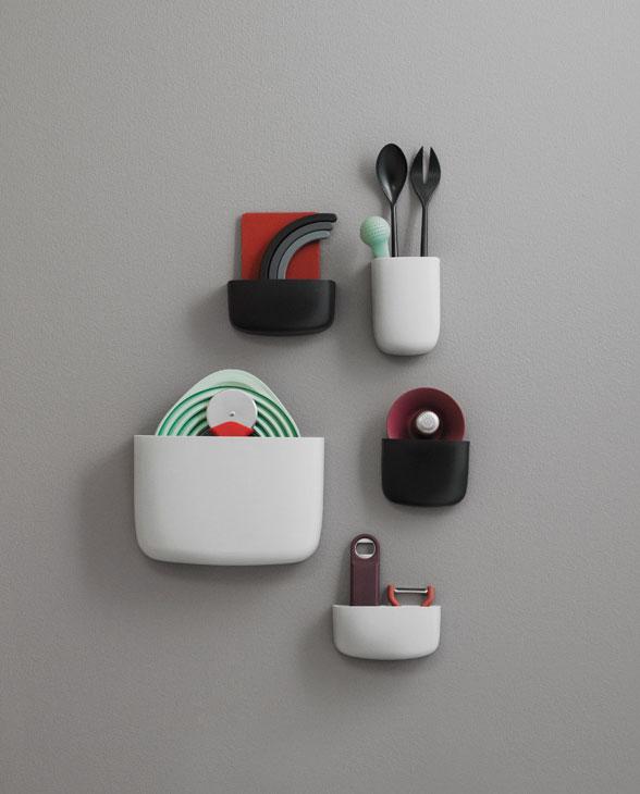 Normann Copenhagen 3820 pocket organizer2colors kitchen