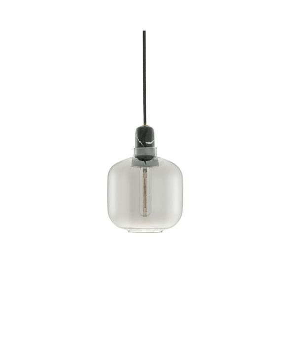 Normann Copenhagen 502116 amp lamp small smokeblack 1