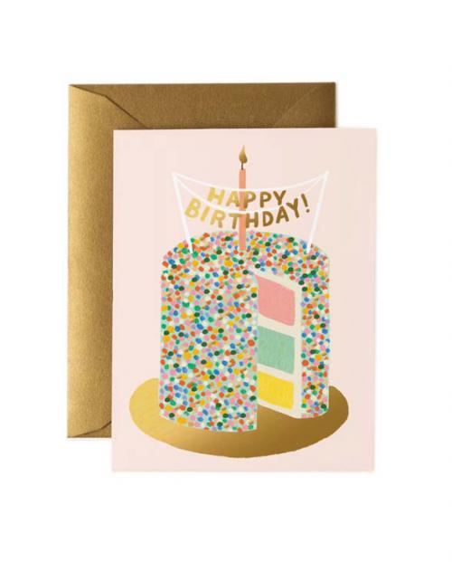 Rifle Paper Karte layer cake birthday