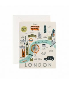 Rifle Paper Karte london map