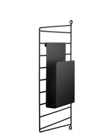 String magazineholder black