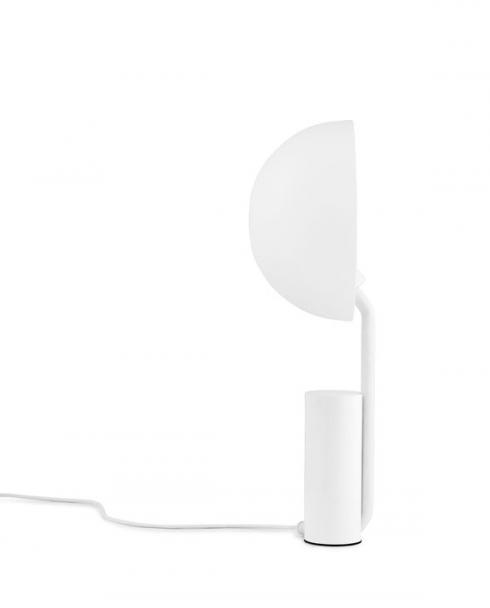 normann copenhagen 505041 cap tablelamp white 3