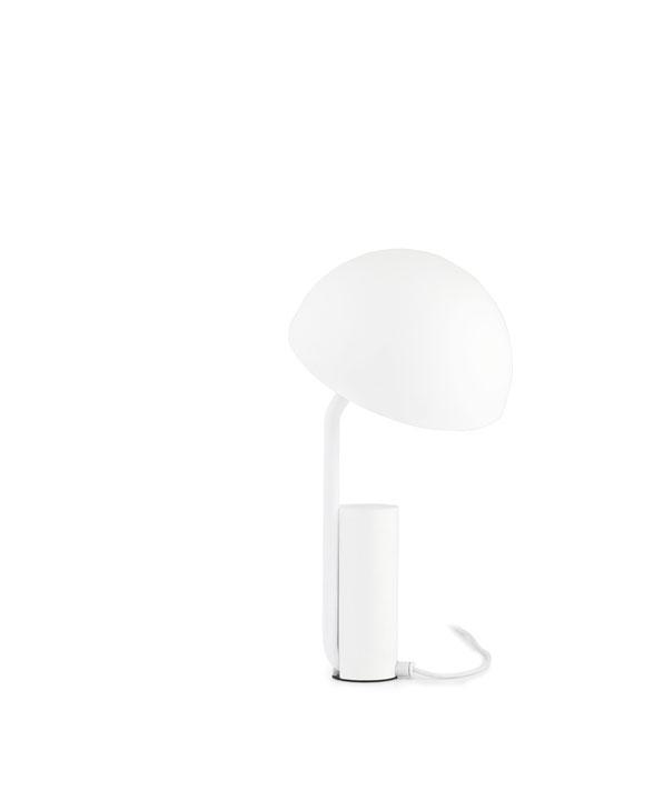 normann copenhagen 505041 cap tablelamp white 4