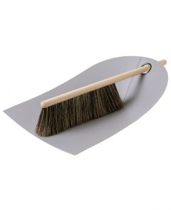 normann copenhagen dustpan broom grey
