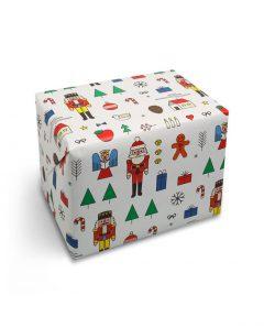 red fries geschenkpapier 0132 wrap xmas mashup 01