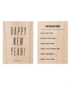 Bloomingville NewYear prediction card