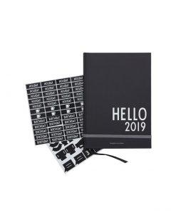 Design Letters Kalender 70201611BLACK