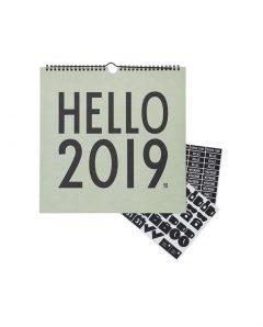 Design Letters Kalender 70201612GREEN