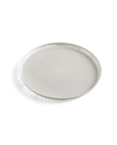 HAY Perforated Tray L soft grey WB