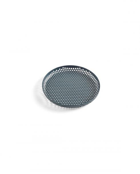 HAY Perforated Tray S dark green WB