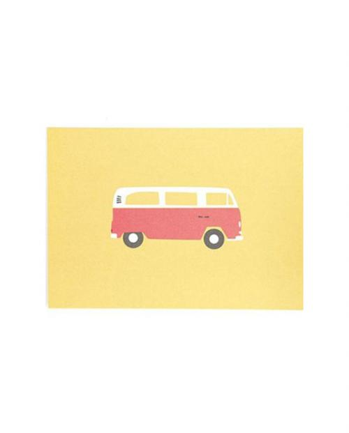 Roadtyping postkarte bulli