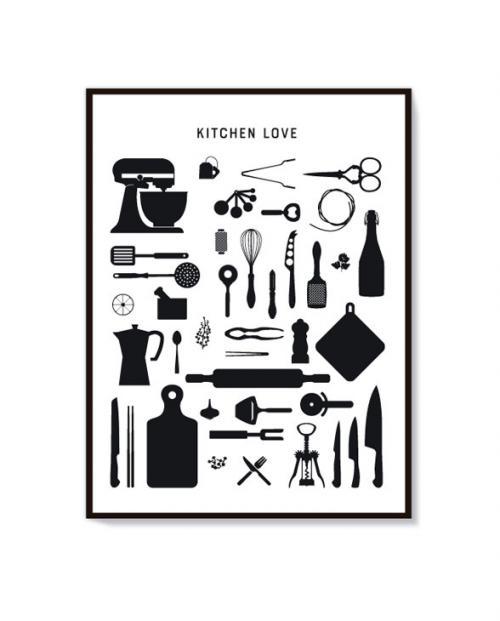 fox poet artprint kitchen 01