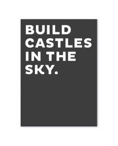 fox poet postkarte schwarz castles