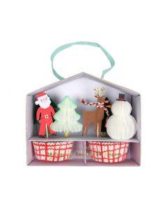 merimeri cupcake kit weihnachten 162514a xmas