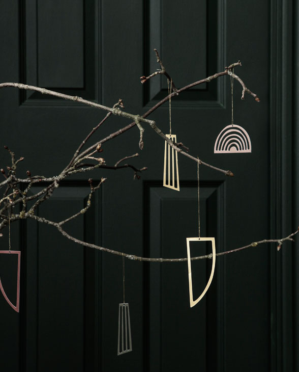ferm living Golden Ornaments 03