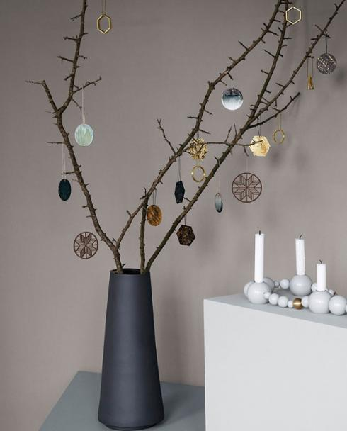 ferm living Patina Brass Ornaments 01