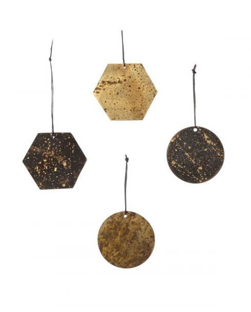 ferm living Patina Brass Ornaments 03
