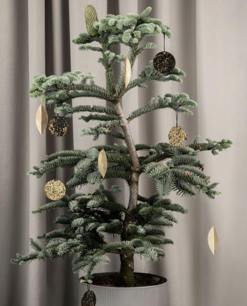 ferm living Patina Brass Ornaments 04