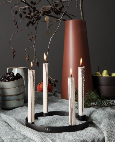 ferm living candleholder circle 01