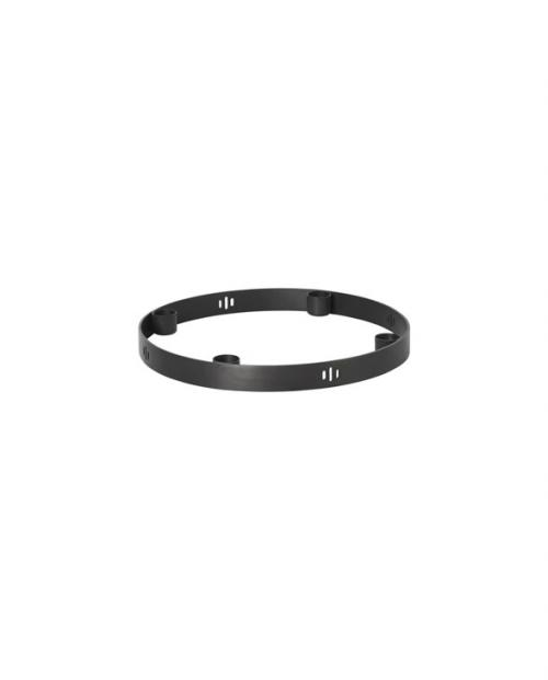 ferm living candleholder circle 5725 black 01