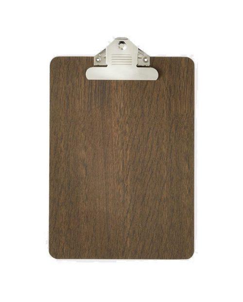 ferm living clipboard oak a4
