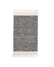 ferm living rug melange black 8227 01