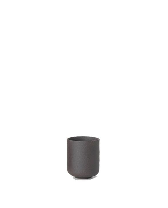 ferm living sekki cup small charcoal 5396