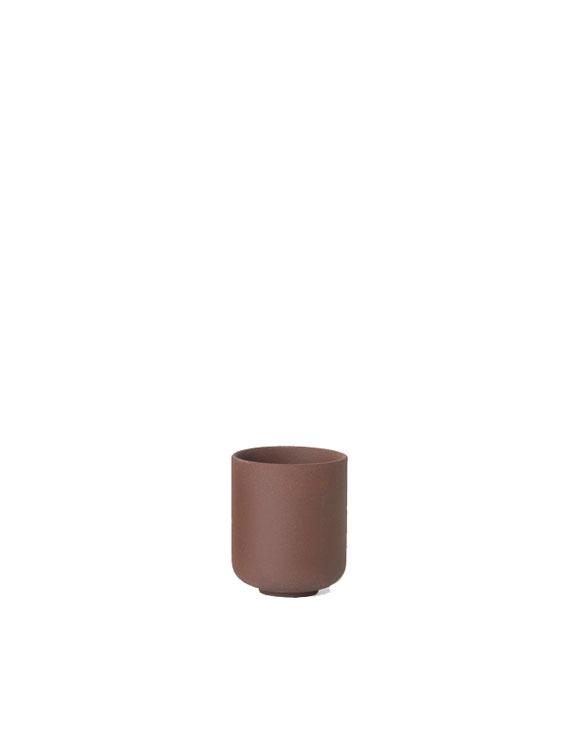 ferm living sekki cup small rust 5394