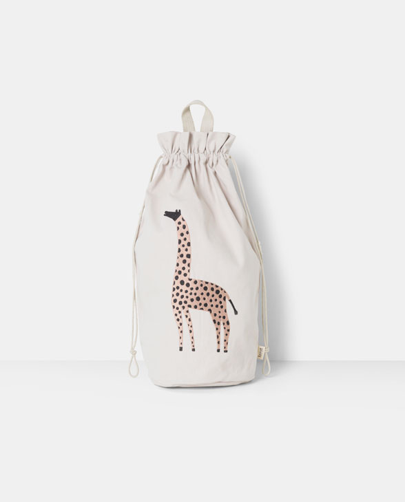 ferm living storage bag Giraffe 01
