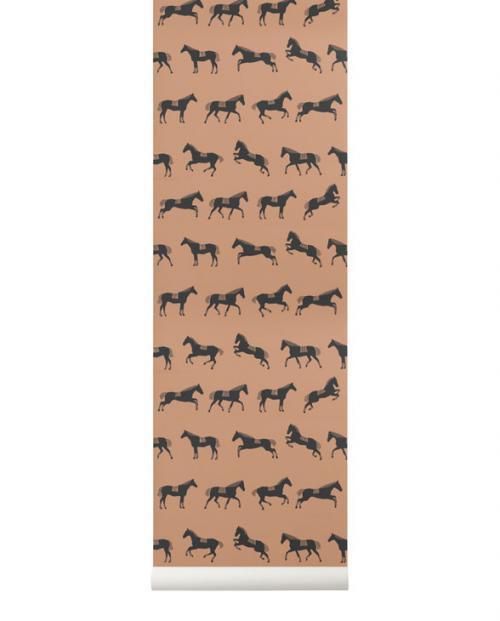 ferm living tapete horse 01