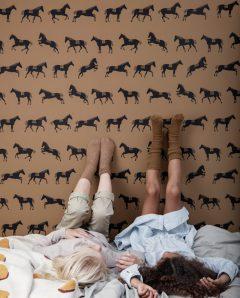 ferm living tapete horse 02