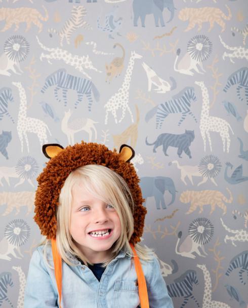ferm living tapete safari 02