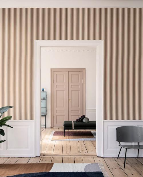 ferm living tapete thin lines 01