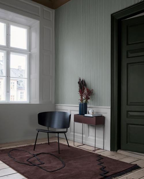 ferm living tapete thin lines 03